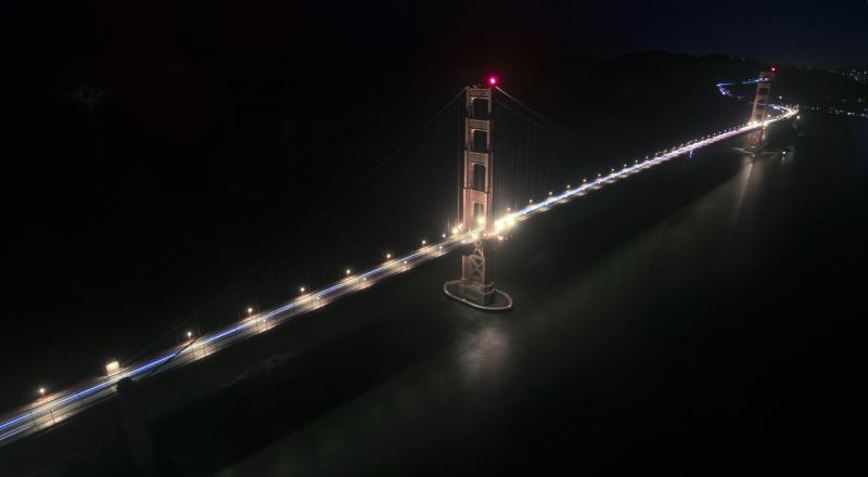 Golden Gate Bridge, SF, CA