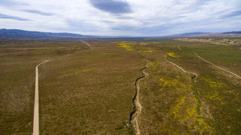 San Andres Fault High Altitude