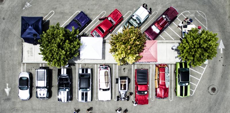 Car Show Top Down